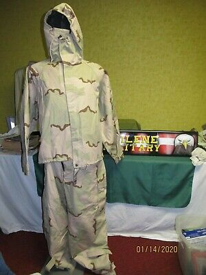 Military Surplus Chemical Suit Desert 3 Color Ppe Pants Or Jacket New Sealed