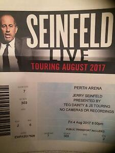 Seinfeld tickets Munster Cockburn Area Preview