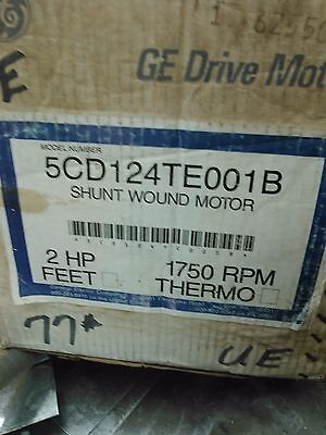 GENERAL ELECTRIC 2HP 1750/2050 RPM K-3 DC MOTOR