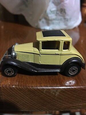 matchbox superfast 1979 model a ford diecast car made in England