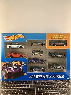 2016 Hot Wheels 9-pack With Exclusive Deco Datsun 620 Black/Red Pickup Truck