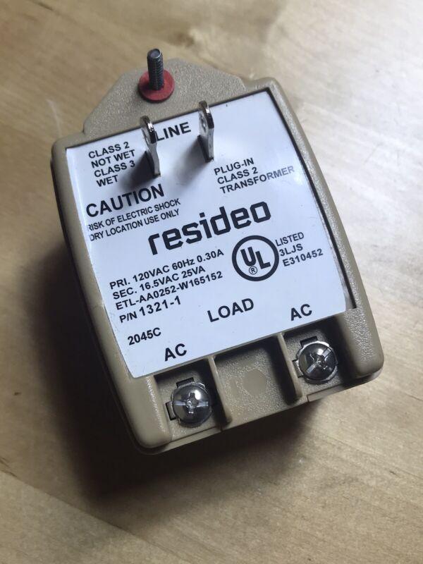 resideo 1321 1321-1 16.5VAC 25VA Alarm Transformer
