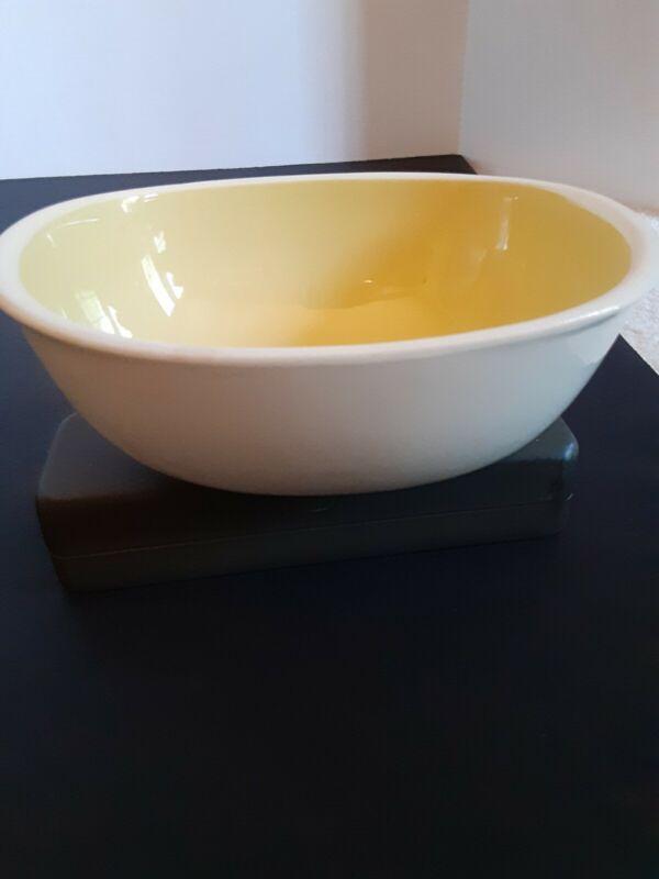 Harkerware Yellow Vintage serving bowl