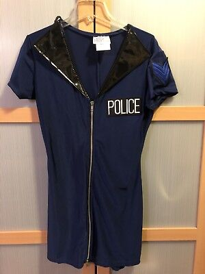 Sexy Police Rookie Halloween Cop costume Small dress only