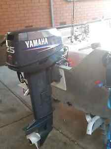 Yamaha 25hp Tiller Steer Greenvale Hume Area Preview