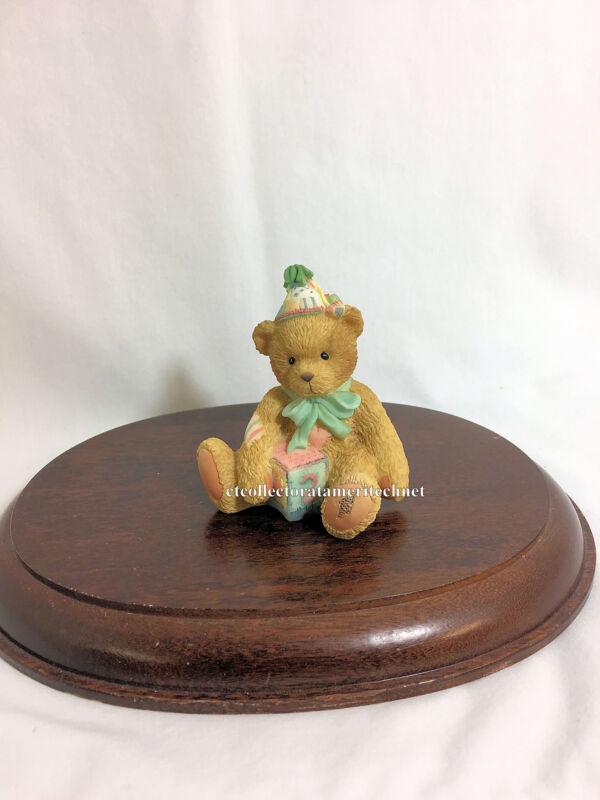 Cherished Teddies Birthday Bear Age 2 1993 NIB