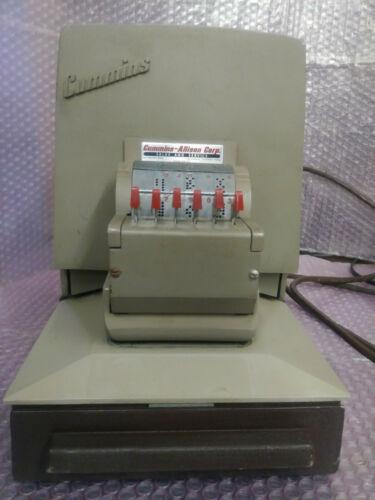 CUMMINS PERFORATOR Model 300-SD PAID & DATE.