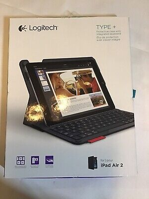 NEW Logitech Type+ Protective iPad Air2 Case w/Integrated Bluetooth Keyboard