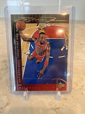 Michael Jordan 1994-95 Upper Deck Basketball Heroes #40 UNSTOPPA-BULL