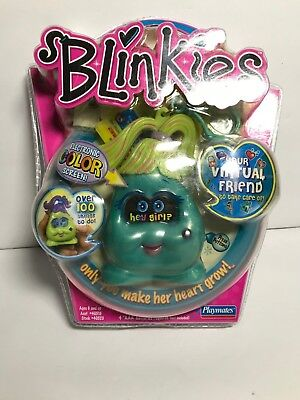Blinkies Skye Blue Virtual Best Friend by Playmates Color Screen 2004 NIP RARE - Blinkies Toy