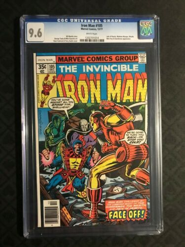 Iron Man #105  CGC 9.6 NM+