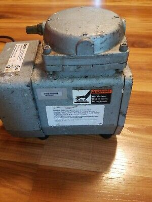 Used Gast Doa-p701-aa Fan Cooled 120v Continuous Suction Vacuum Press Duty Pump