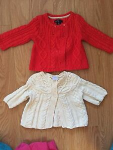 Baby clothing  from 0 to 24 month, Gap, children's place etc