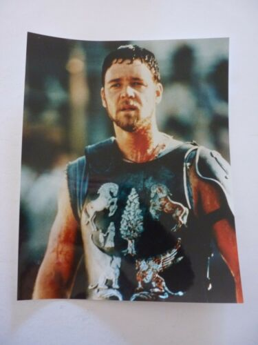 Russell Crowe Gladiator Movie Sexy Actor 8x10 Color Promo Photo