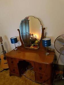 Dresser  original  draws / mirror  solid Glynde Norwood Area Preview