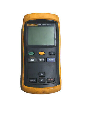Fluke 51-ii Contact Single Input Digital Thermometer F51-2 Parts Or Repair