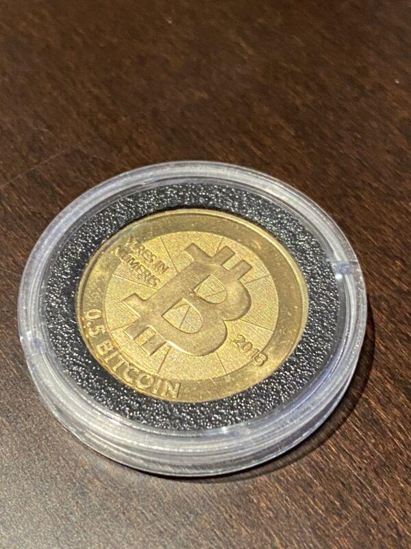 Casascius Bitcoin .5 BTC 2013 Physical Bitcoin Fully Funded/loaded