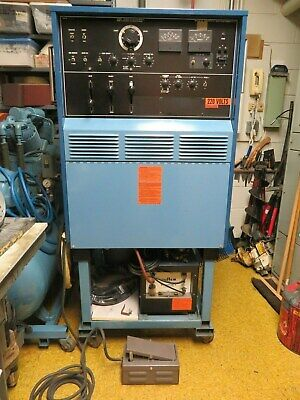 Miller Syncrowave 300 Welder W Cooling Tank Footswitch Lots Of Extras