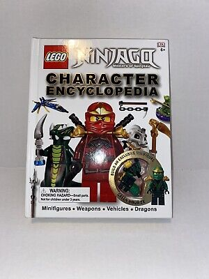 LEGO NINJAGO: Character Encyclopedia With Minifigure