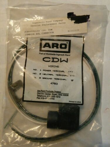 81322539 INGERSOLL-RAND  CDW SOLENOID CONNECTOR