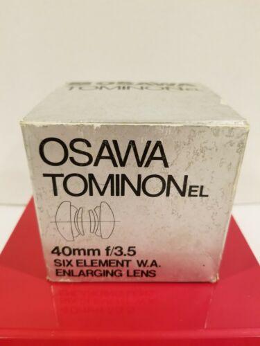 OSAWA TOMINON 40mm/3.5 SIX ELEMENT ENLARGING LENS