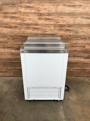 Bd2726 Ice Cream Dipping Cabinet W Stainless Steel Slide Top Lid 115 V
