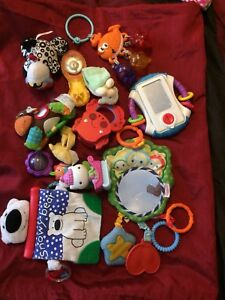 Baby teethers and toys