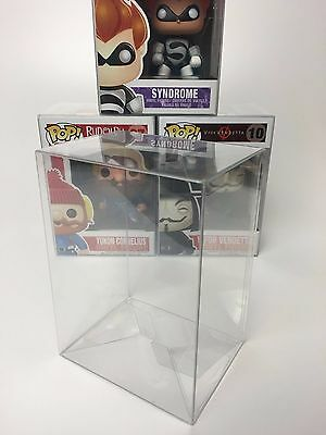 "100 FUNKO POP! PROTECTORS FOR 4"" VINYLS - ACID-FREE, CRYSTAL CLEAR, PERFECT FIT!"