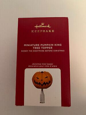 Hallmark 2020 PUMPKIN KING TREE TOPPER Miniature Nightmare Before Christmas