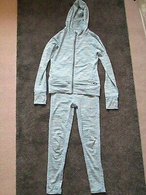 Girls Tracksuit Sports Leggings & Hoodie Zip Jacket   Age 8/9 Years - 2 items for sale  Shipping to Nigeria