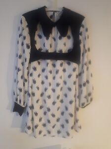 Meadham Kirchhoff Topshop Eyenall Dress BNWT 12 RARE AF