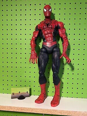 "Spider-Man 2 Movie Ultimate 18"" Super Poseable Action Figure Toy Biz Loose"