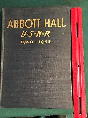 1946 Northwestern U. Abbott Hall U.S.Naval Reserve Midshipman School  Inscribed