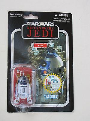 Star Wars R2d2 Vintage Kenner Figure Return Jedi Skywalker Lightsaber Boba Fett