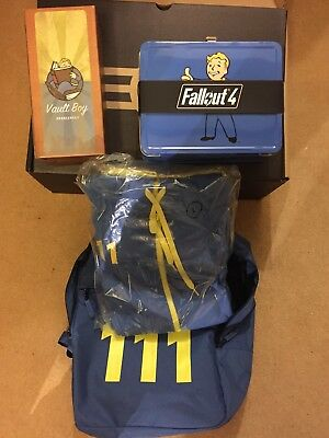 VAULT DWELLERS ORIENTATION KIT LIMITED EDITION OFFICIAL FALLOUT 4 HOODY LARGE (Konsole Vault)