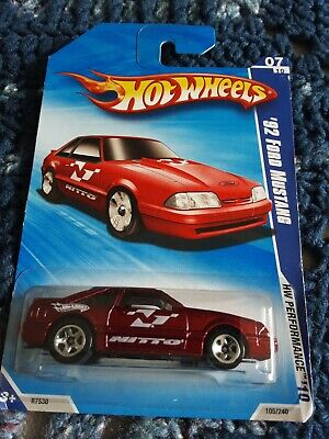 Hot Wheels Performance 10  92 Ford Mustang 07/10