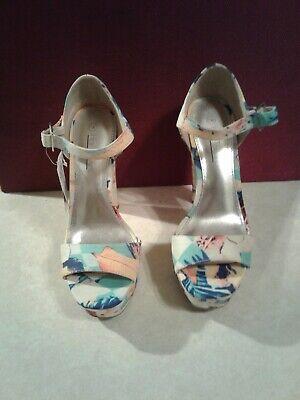 Pumps Tomato - Hot Tomato Open Toe,ankle Strap,pumps Stilettos Sandals,6 Inch Heels,size 7 1/2