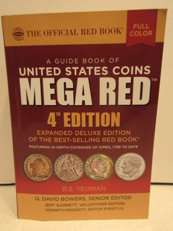 2019 Official Red Book A Guide Book Of United States Coins Mega Red 4th Deluxe
