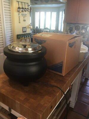 Vollrath 72175 11 Qt. Soup Rethermalizer Kettle Black - 120v 900w
