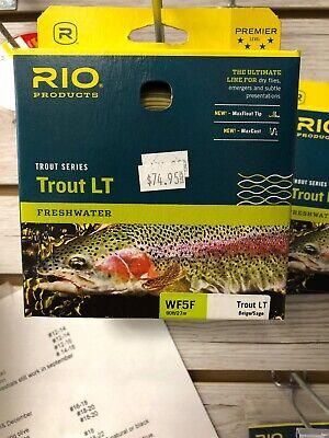 "$74.95/"" RIO TROUT LT  WF7F FLY LINE CAMO//BEIGE /""RETAIL"