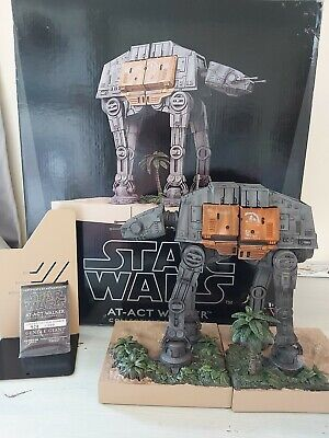 STAR WARS AT ACT WALKER COLLECTIBLE BOOKENDS LTD EDITION 459/1200 GENTLE GIANT
