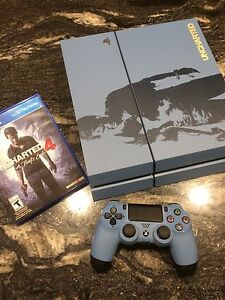 500GB Playstation 4 *Limited Edition* Uncharted 4 Console