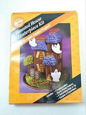Vintage Wilton Haunted House Halloween Centerpiece Kit New in Box NOS 209