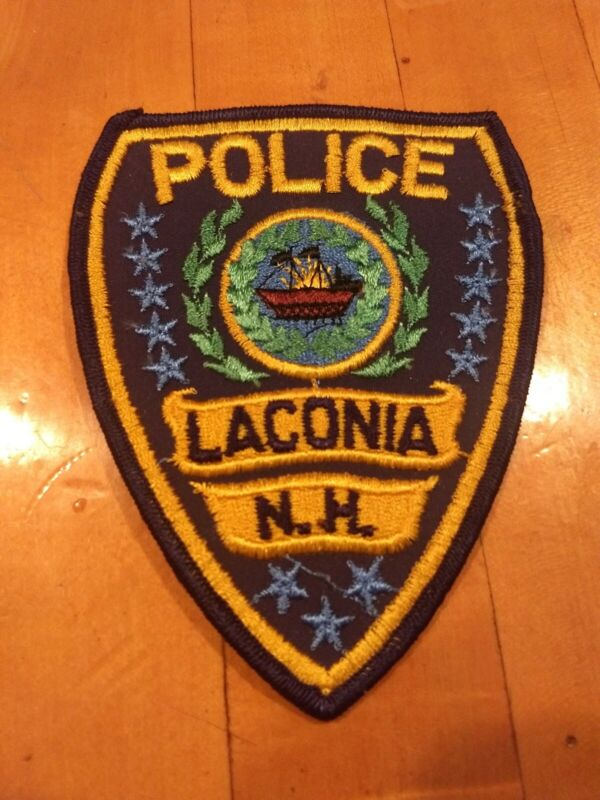 VINTAGE LACONIA NEW HAMPSHIRE NH  Police Patch - NEW