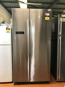 Fisher & Paykel 628L stainless steel fridge with 3 months warranty