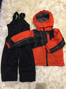 Winter jacket and Snow pants 2T