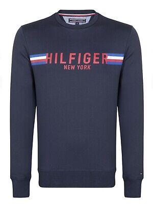 Tommy Hilfiger Herren Pullover Baumwolle Jersey Sweater  Gr. S/M/L/XL/XXL - Baumwolle Pullover Pullover