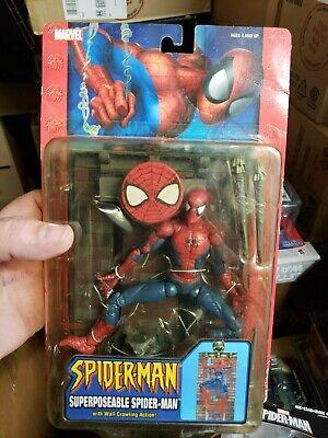 Spiderman Classics Super-Poseable Mcfarlane Spiderman Figure MOC