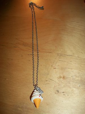 Claires Ice Cream Necklace Adjustable 16 To 18 Inches