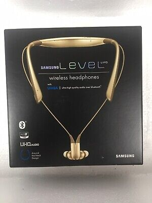 Samsung Level U Pro with UHQA Wireless Headphones color (Gold)